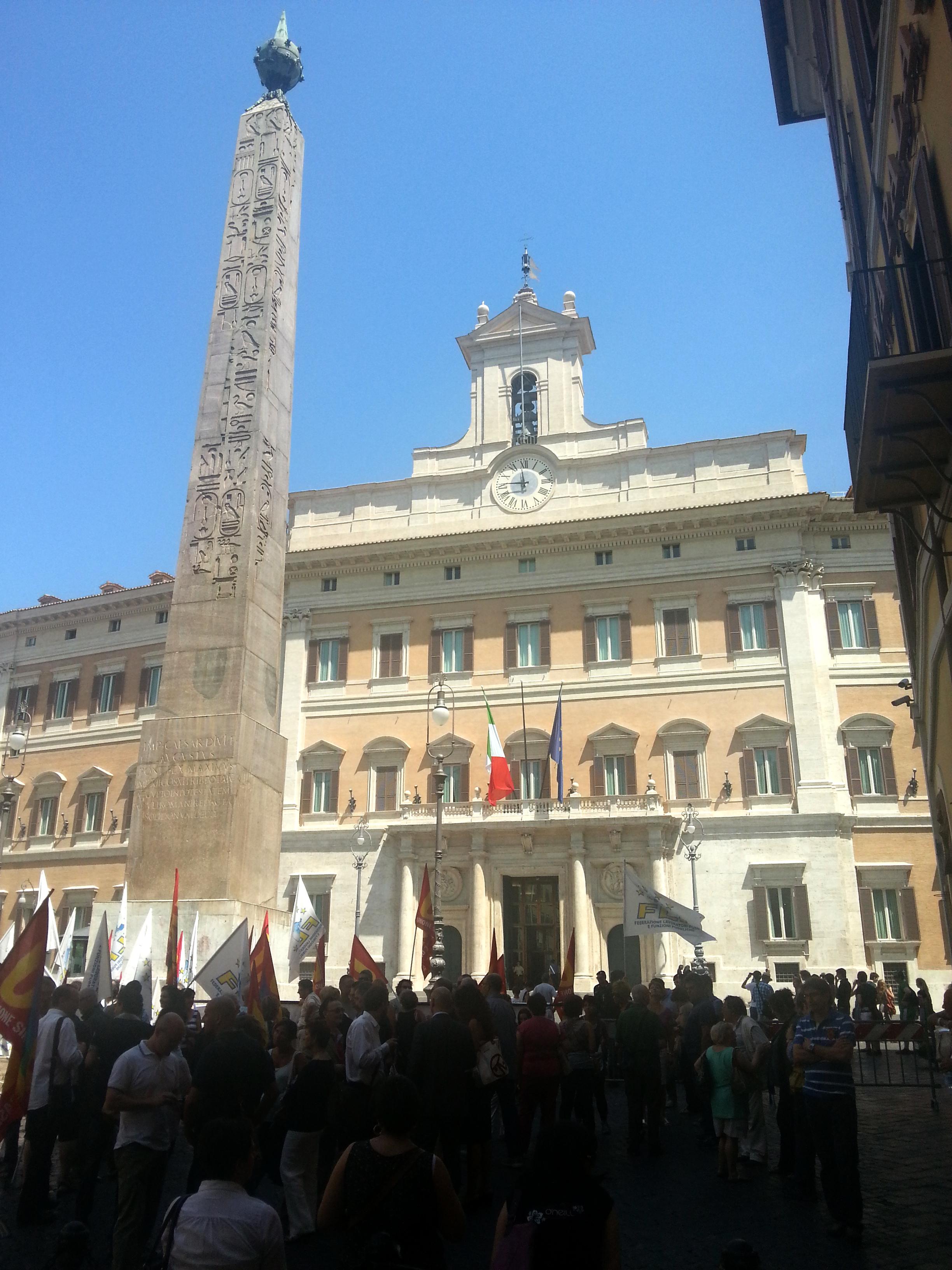 Unione sindacale di base il portale nazionale la for Piazza montecitorio 12